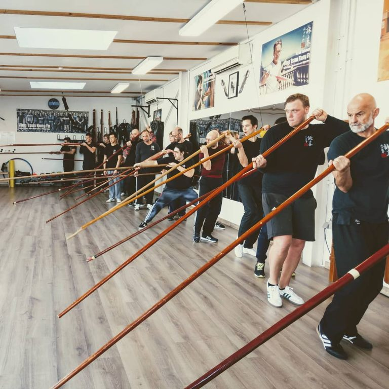 Long pole training seminar Luik